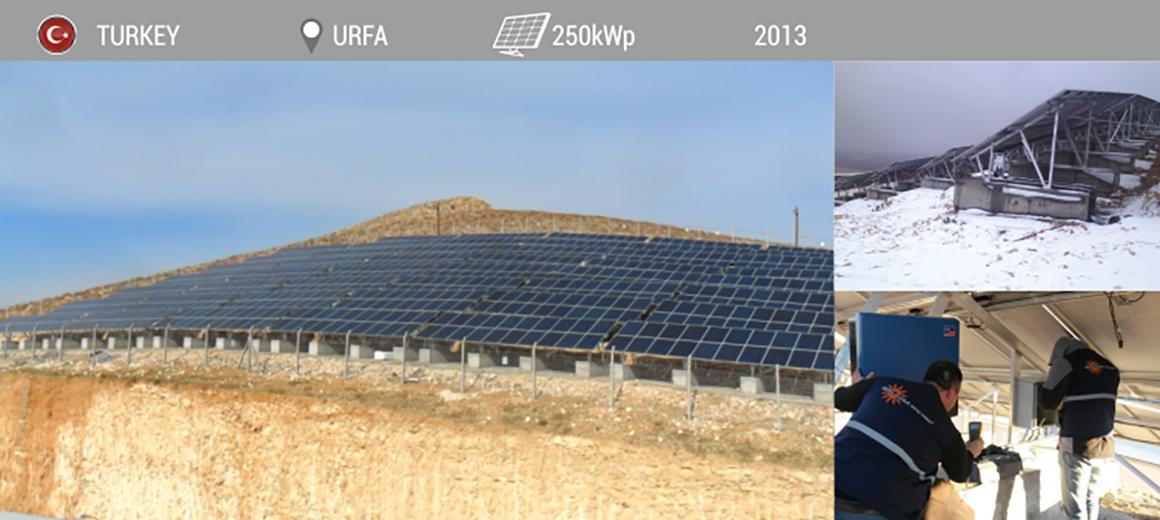 ODAS SANLIURFA 250kWp 2013