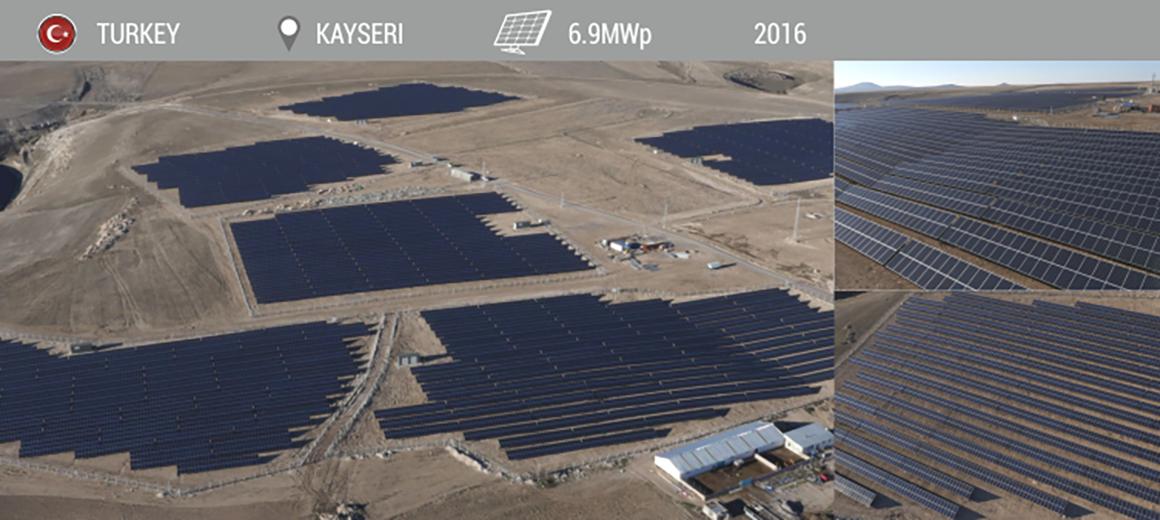 SOLARPOWER KAYSERI 6.9MW 2016